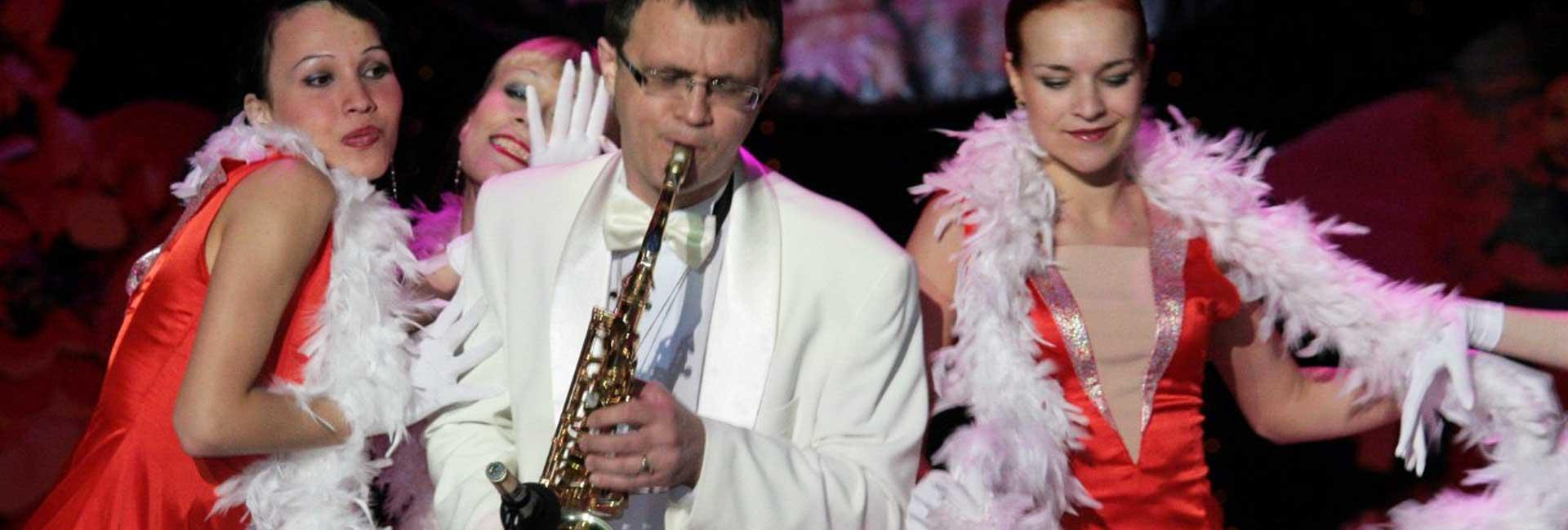 Музыкальная программа Владимира Петрова — популярные произведения на саксофоне